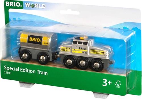 BRIO trein Special Edition zilverkleurige trein 33500