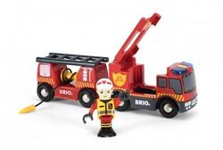 BRIO trein Brandweerwagen 33811