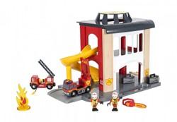 BRIO trein Grote brandweerkazerne 33833