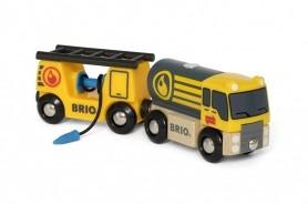 BRIO Tankwagen met aanhanger - 33907