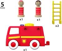 BRIO speelgoed Licht en geluid brandweerwagen-3