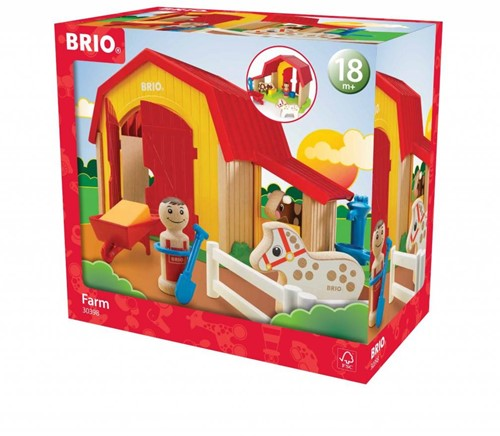 BRIO speelgoed Boerderij-3