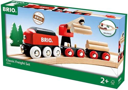 BRIO trein Klassieke goederentrein set 33010-2