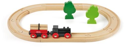 BRIO Treinset met bomen - 33042