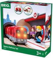 BRIO trein Metro treinset 33513-2