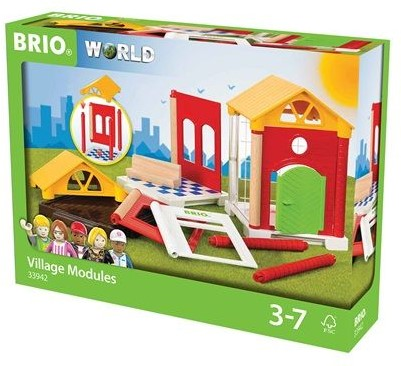 BRIO trein Uitbreidingsset huis 33942-2