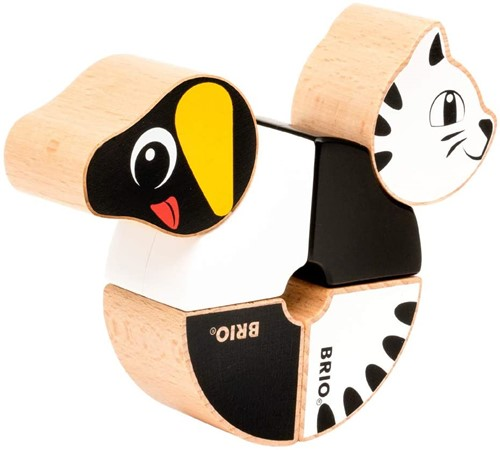 BRIO Magnetische teckel en kat - 30269