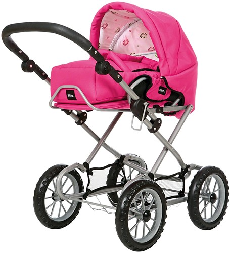 BRIO speelgoed Poppenwagen Combi - Fuchsia-2