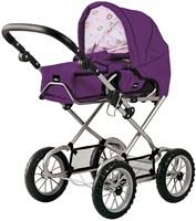 BRIO speelgoed Poppenwagen Combi - Donkerpaars