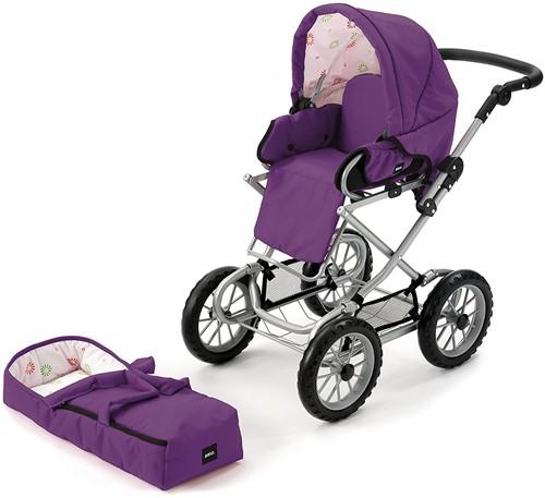 BRIO speelgoed Poppenwagen Combi - Donkerpaars-2