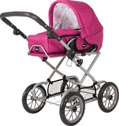 BRIO speelgoed Poppenwagen Combi - Roze