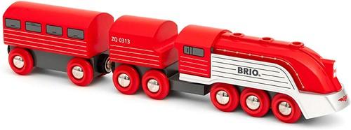 BRIO Rode hogesnelheidstrein - 33557