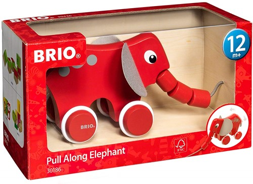 BRIO trekdier Olifant - 30186-2