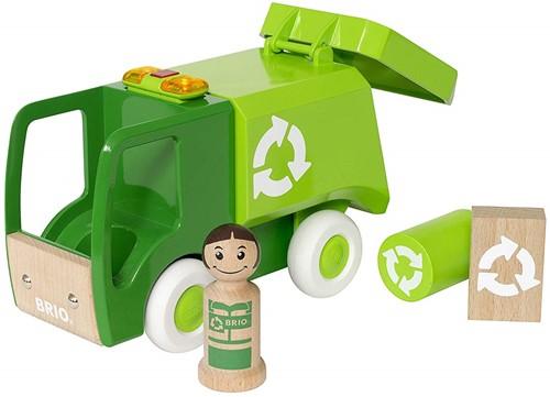 BRIO speelgoed Vuilniswagen - 30278