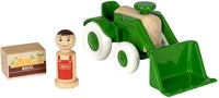 BRIO speelgoed Tractor met voorlader-2