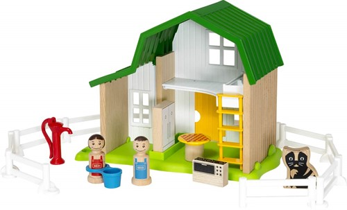 BRIO speelgoed Boerderij huis