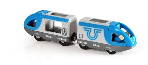 BRIO Passagierstrein op batterijen - 33506