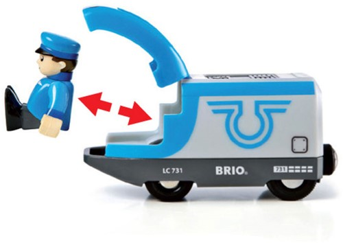 BRIO trein Passagierstrein op batterijen 33506-3