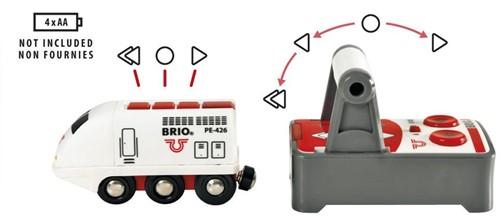 BRIO trein Witte RC locomotief met afstandsbediening 33510-3