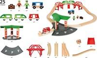 Brio houten trein set Travel Station set 33627-3