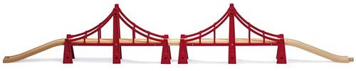 BRIO Dubbele hangbrug - 33683
