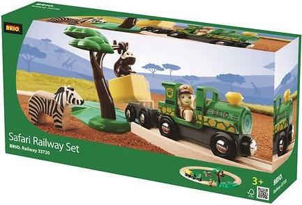 BRIO trein Treinset safari 33720-3
