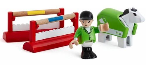 Brio houten trein accessoire Concours trainingsset 33795