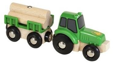 BRIO Tractor met aanhanger - 33799