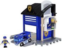 BRIO trein Politie Station 33813