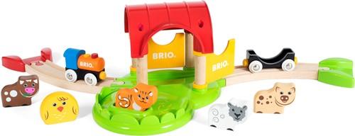 BRIO trein Mijn eerste boerderij - 33826