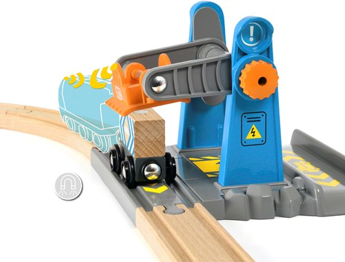 BRIO trein Smart Tech Lift&Load Kraan - 33827-2