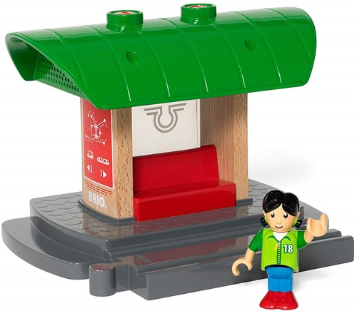 BRIO train Record & Play Train Platform 33840