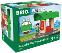BRIO train Record & Play Train Platform 33840-2