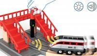 BRIO trein Smart Tech locomotiefset met actietunnels 33873-3