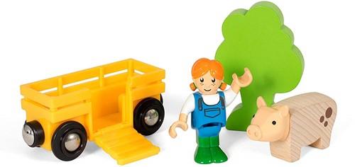 BRIO Boerin met varken Play Kit - 33875
