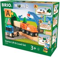 BRIO trein Lift & Load starterset A  33878-3