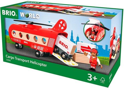 BRIO trein Vracht transport helikopter 33886-3