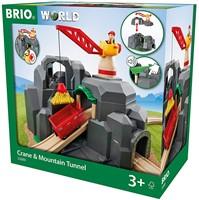 BRIO train Crane and Mountain Tunnel 33889-2