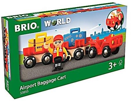 BRIO Vliegveld bagage kar - 33893