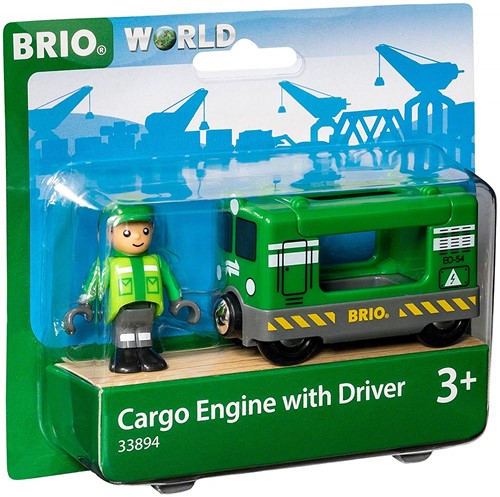 BRIO train Cargo Engine Driver 33894-2