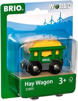 BRIO train Hay Wagon 33895-2