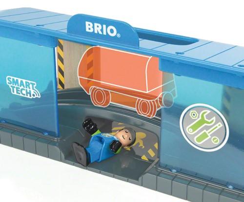 BRIO trein Smart Tech Werkplaats 33918-3