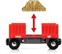 BRIO trein Vrachtwagon met goudlading - 33938-2