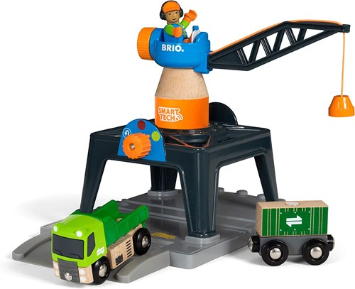 BRIO Smart Tech Containerkraan - 33962