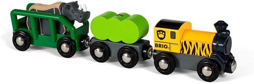 BRIO Safaritrein met neushoorn - 33964