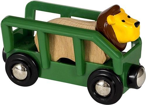 BRIO Wagon met leeuw - 33966