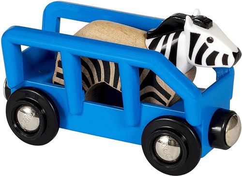 BRIO Wagon met zebra - 33967