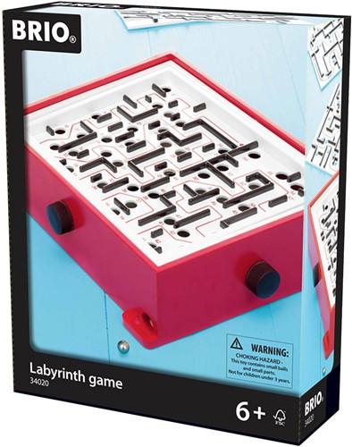 BRIO spel Labyrint met inlegplaten - 34020-3