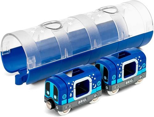BRIO Metrotrein en tunnel - 33970