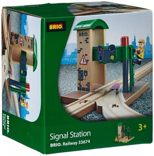 BRIO trein Seinstation 33674-3